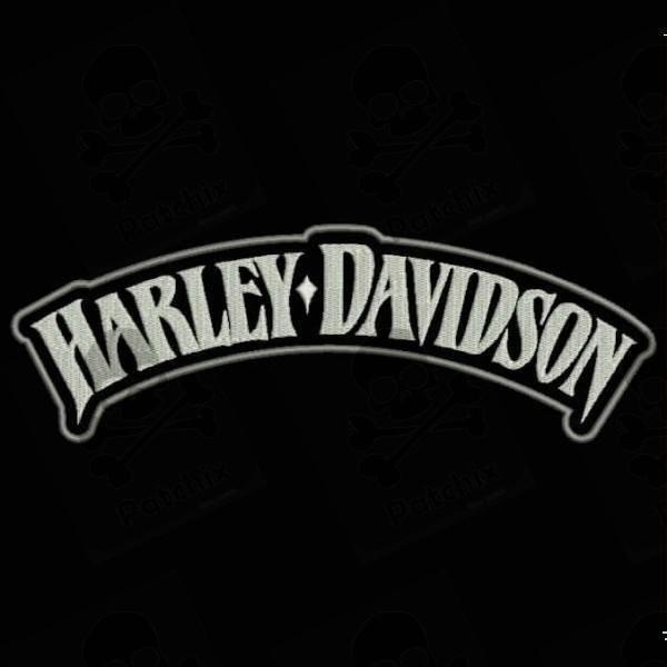 embroidered patch harley davidson. Black Bedroom Furniture Sets. Home Design Ideas