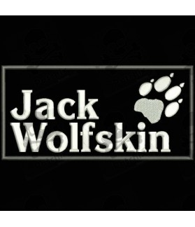Embroidered Patch JACK WOLFSKIN