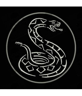 Embroidered Patch SNAKE