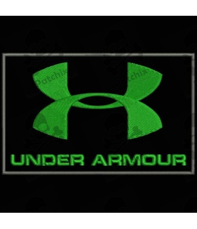 Embroidered patch UNDER ARMOUR II