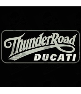 Embroidered patch THUNDER ROAD DUCATI
