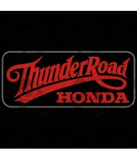 Embroidered patch THUNDER ROAD HONDA