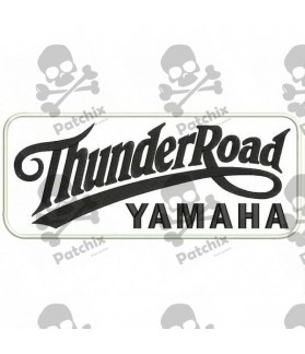 Embroidered patch THUNDER ROAD YAMAHA