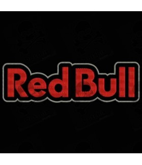 Embroidered patch RED BULL