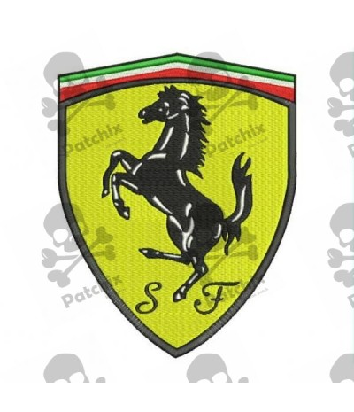 Embroidered Patch FERRARI