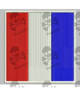 Embroidered patch NAUTICAL FLAG LETTER S (ICS SIERRA)