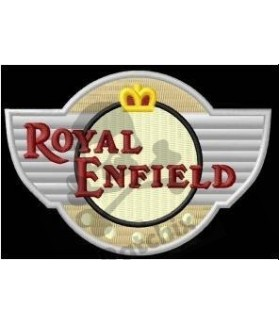 Embroidered patch ROYAL ENFIELD