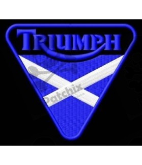 Embroidered patch TRIUMPH