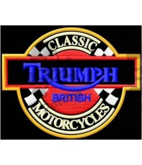Embroidered patch TRIUMPH CLASSIC