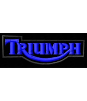 Embroidered patch TRIUMPH LOGO