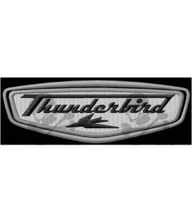 Embroidered patch TRIUMPH THUNDERBIRT