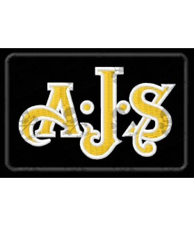 Embroidered patch Motrocycle AJS LOGO