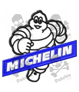Embroidered patch MICHELIN