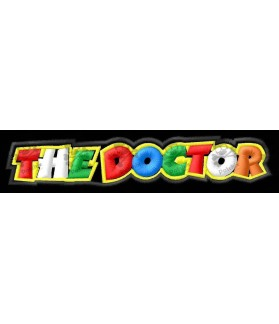 Embroidered patch THE DOCTOR