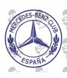 Embroidered Patch MERCEDES