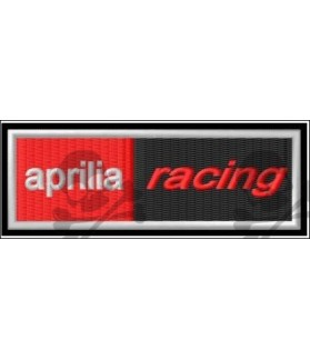 Embroidered patch APRILIA RACING