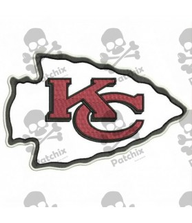 Embroidered Patch NFL KANSAS CITY CHIEFS