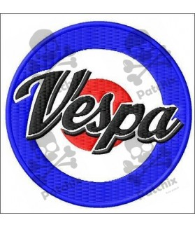 Embroidered patch VESPA