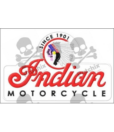 Embroidered patch INDIAN MOTORCYCLE