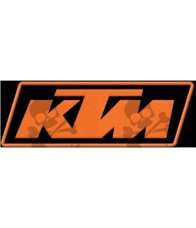 Embroidered patch KTM LOGO