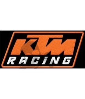 Embroidered patch KTM RACING