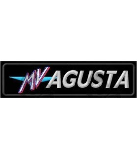 Embroidered patch MV AUGUSTA LOGO