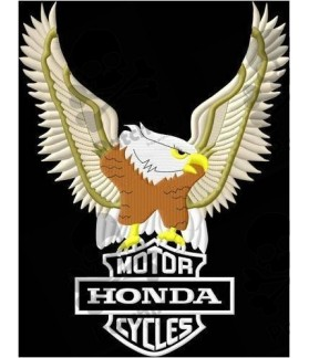 Embroidered patch HONDA EAGLE XL