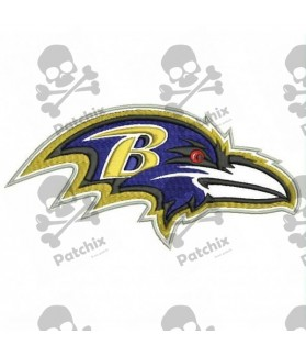 Embroidered Patch NFL BALTIMORE RAVENS