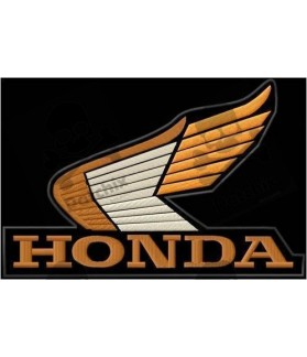 Embroidered patch HONDA EAGLE XXL
