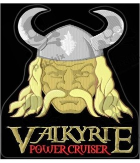 Embroidered patch HONDA VALKIRIE POWER CRUISER XXL