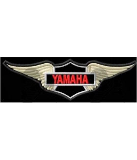 Embroidered patch Motorcycle YAMAHA EAGLE SHIELD