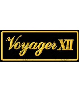 Embroidered patch KAWASAKI VOYAGER XII