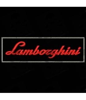 GESTICKTER Patch LAMBORGHINI