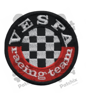 Embroidered patch SCOTTER VESPA RACING TEAM