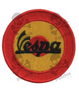 Embroidered patch SCOTTER VESPA SPAIN