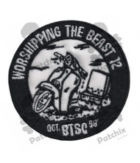 Embroidered patch SCOTTER VESPA COLLECTION BTSC 98