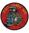 Embroidered patch SCOTTER VESPA COLLECTION KINGS CLASSIC 2000