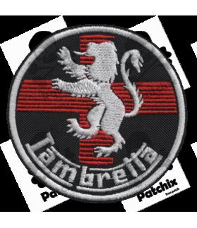 Embroidered patch LAMBRETTA CROSS