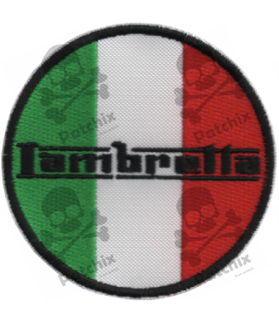 Embroidered patch LAMBRETTA ITALY