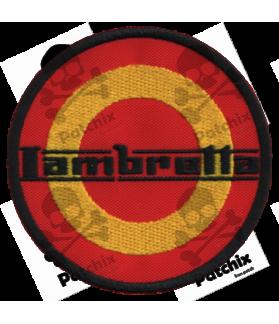 Embroidered patch LAMBRETTA SPAIN