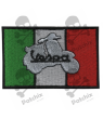 Embroidered patch SCOOTER VESPA FLAG ITALY