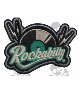 Embroidered patch COLLECTOR ROCKABILLY DISCO