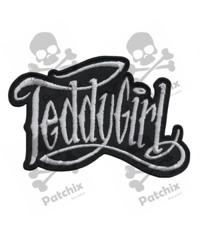 Embroidered patch COLLECTOR TEDDYGIRL