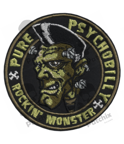 Embroidered patch COLLECTOR FRANKIEMONSTER