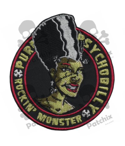 Embroidered patch COLLECTOR ELI MONSTER