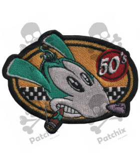 Embroidered patch COLLECTOR RAD ROD 50