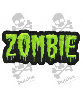 Embroidered patch COLLECTOR ZOMBIE