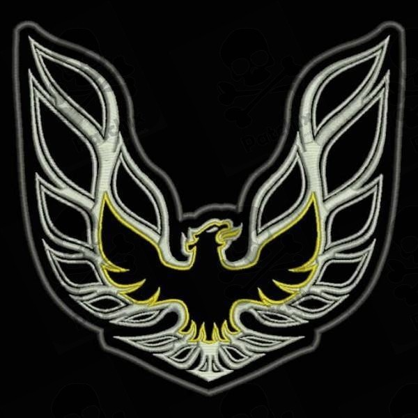 Embroidered Patch Pontiac Firebird Patchix