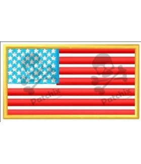 Embroidered patch USA EE.UU, UNITED STATES FLAG