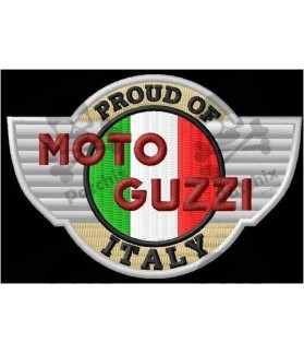 Embroidered patch MOTO GUZZI ITALY